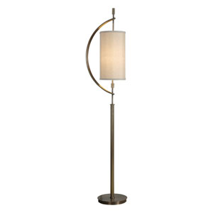 Balaour Antique Brass Floor Lamp