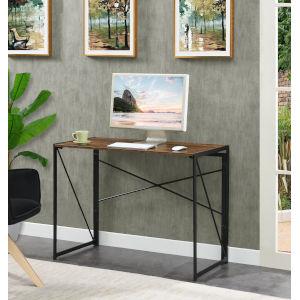 Xtra Barndoor Black Office Desk