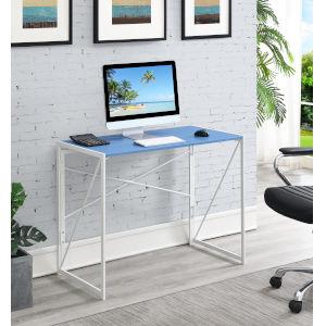 Xtra Blue White Office Desk
