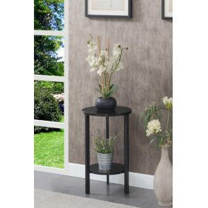 Graystone Black 24-Inch Plant Stand