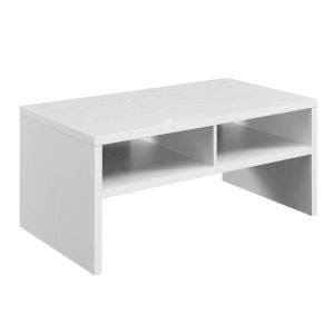 Northfield Admiral White Deluxe Coffee Table with Shelves