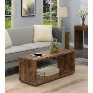 Northfield Admiral Barnwood Coffee Table with Shelf