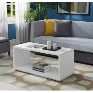 Northfield White 18-Inch Coffee Table