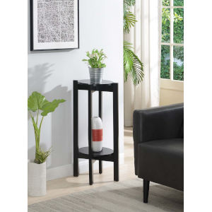 Newport Black 31-Inch Plant Stand