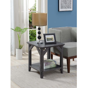 Winston Weathered Gray 20-Inch End Table