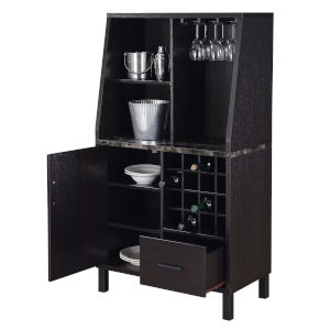 Newport Espresso Wine Storage Bar