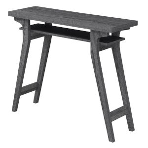 Newport Weathered Gray Lynda Console Table