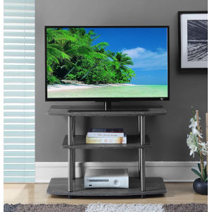 Designs 2 Go Weathered Gray 32-Inch TV Stand