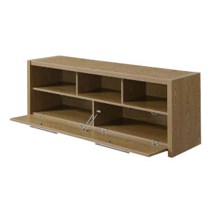 Newport Driftwood MDF 60-Inch Marbella TV Stand