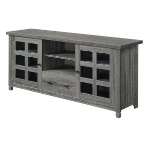 Newport Weathered Gray Park Lane 60-Inch TV Stand