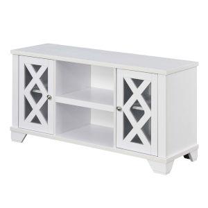 Gateway White TV Stand