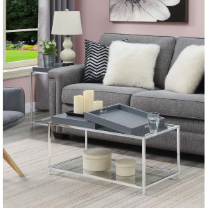 Palm Beach Gray Accent Coffee Table