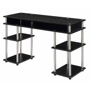 Designs2Go Black Student Desk