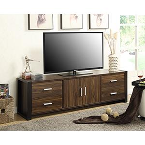 Newport Dark Walnut Enterprise 70-Inch TV Stand