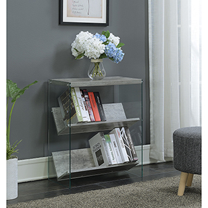 SoHo Faux Birch Bookcase