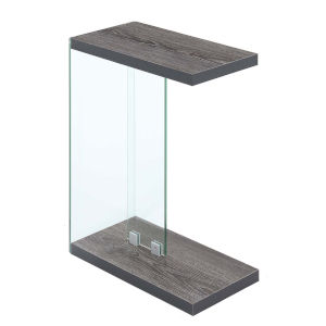 SoHo Weathered Gray C End Table