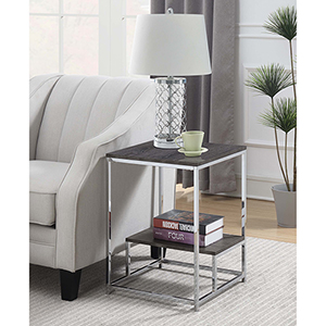 Wilshire Weathered Gray End Table