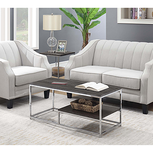 Wilshire Weathered Gray Coffee Table