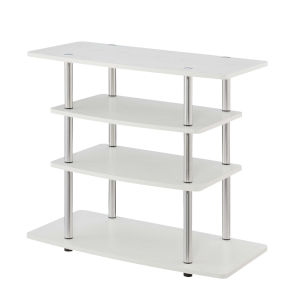 Design2Go White 32-Inch TV Stand
