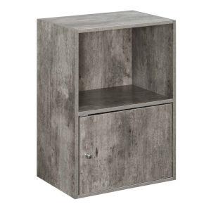 Faux Birch 24-Inch Xtra Storage One Door Cabinet