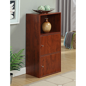 XTRA-Storage Cherry Two Door Cabinet