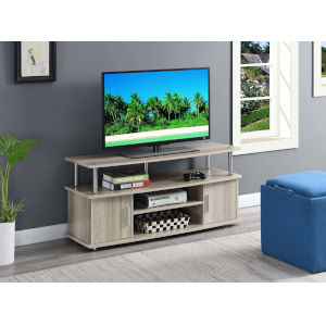 Designs 2 Go Ice White 47-Inch TV Stand