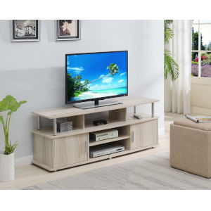 Designs 2 Go Ice White 60-Inch TV Stand