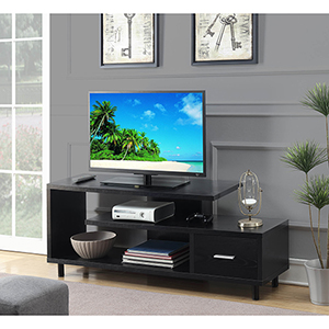 Seal II Black 60-Inch TV Stand