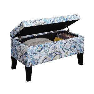 Designs 4 Comfort Paisley Winslow Storage Ottoman