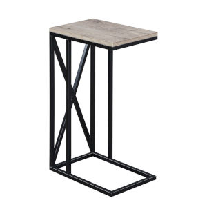 Tucson Sandstone Black C End Table