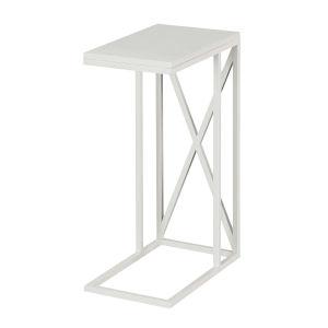 Tucson White C End Table