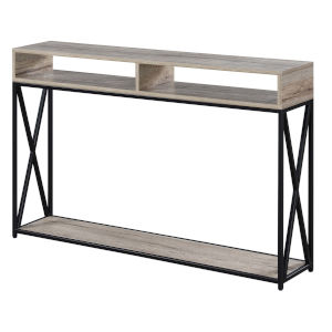 Tucson Sandstone Deluxe Two-Tier Console Table