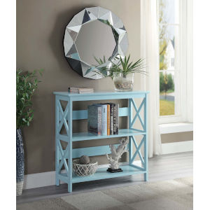 Oxford Sea Foam Three Tier Book Case