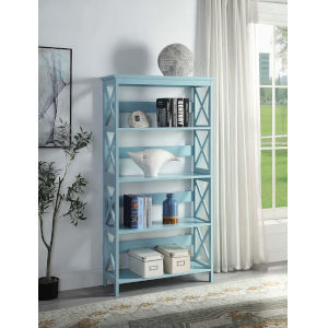 Oxford Sea Foam Five Tier Book Case