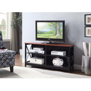 Oxford Cherry and Black TV Stand