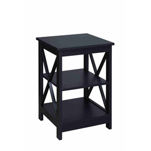 Oxford Black End Table