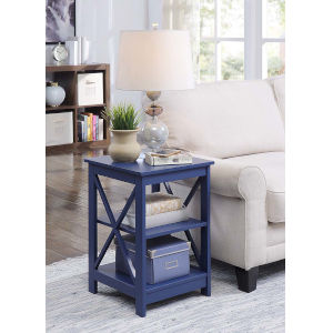 Oxford Cobalt Blue 16-Inch End Table
