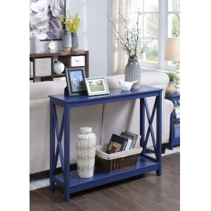 Oxford Cobalt Blue 12-Inch Console Table