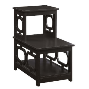 Omega Espresso Chairside End Table