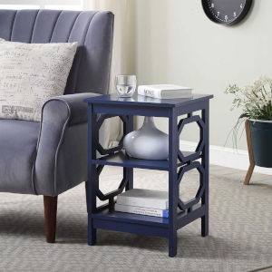 Omega Cobalt Blue Accent End Table