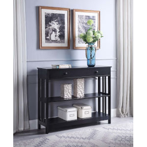 Mission Black 12-Inch Console Table
