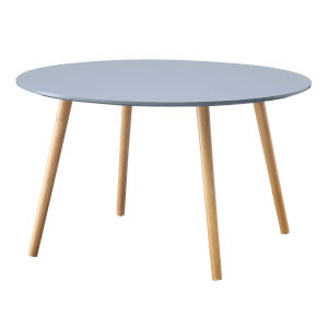 Oslo Gray Round Coffee Table