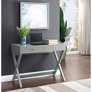 Designs2Go Gray Landon Desk