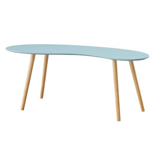 Oslo Sea Foam Bean Shaped Coffee Table