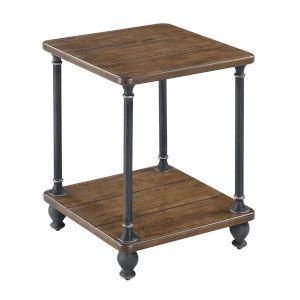 Zion Dark Walnut MDF End Table