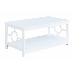 Ring White Coffee Table
