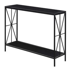 Tucson Black Starburst Console Table