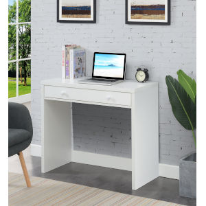 Northfield White Office Desk