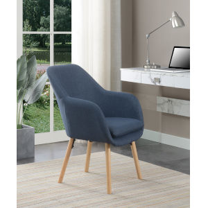 Charlotte Blue Accent Chair
