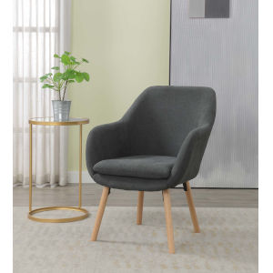 Charlotte Charcoal Gray Accent Chair